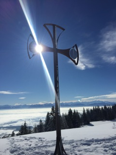 croix chatel neige